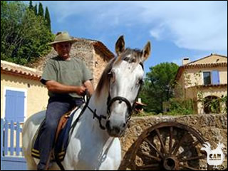 saddling up in Languedoc-Roussillon