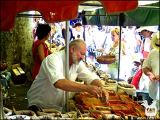 market in Ceret