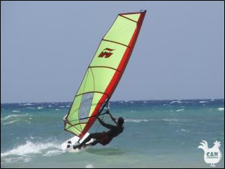 windsurfing in Languedoc Roussillon