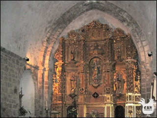 inside Montferrer Church